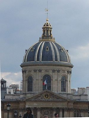 Institut de France - Cupola of the Institut de France.