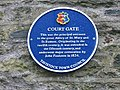 Court Gate plaque - geograph.org.uk - 143400.jpg