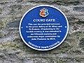Court Gate plaque - geograph.org.uk - 143400.jpg