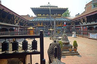 Bahal, Nepal type of courtyard