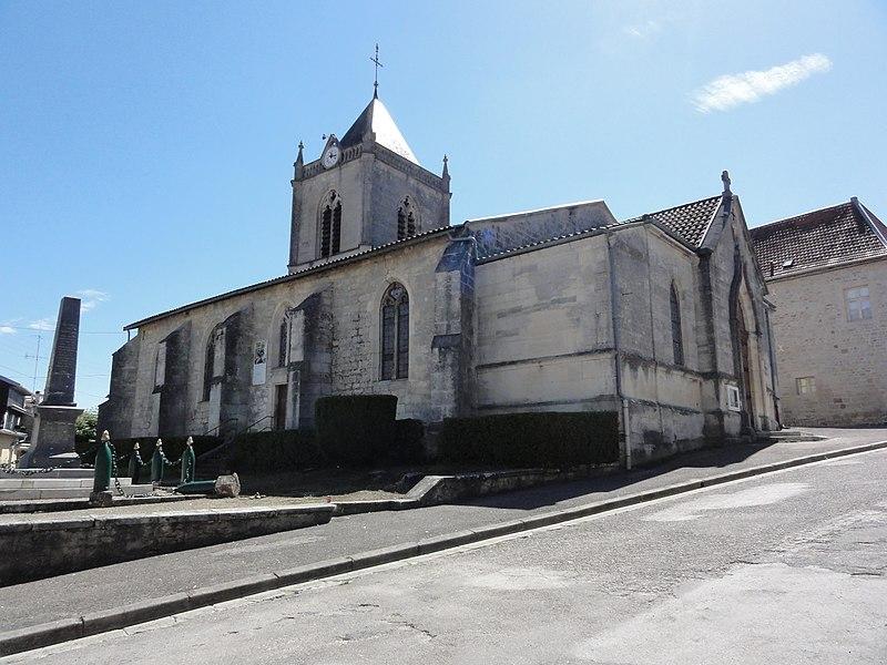 Cousances-les-Forges (Meuse) église