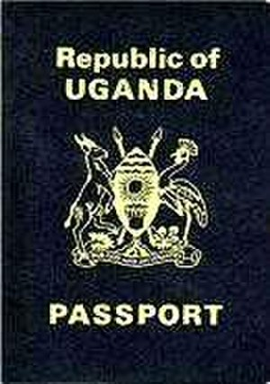 Ugandan passport - Image: Cover of Ugandan Passport
