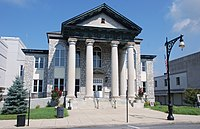 The Alleghany Courthouse in Covington.