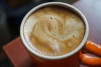 Caffè crema - Crema foam can take on multiple colors and appearances.