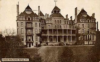 Crescent Hotel (Eureka Springs, Arkansas) - Crescent Hotel, Eureka Springs, Arkansas, circa 1886