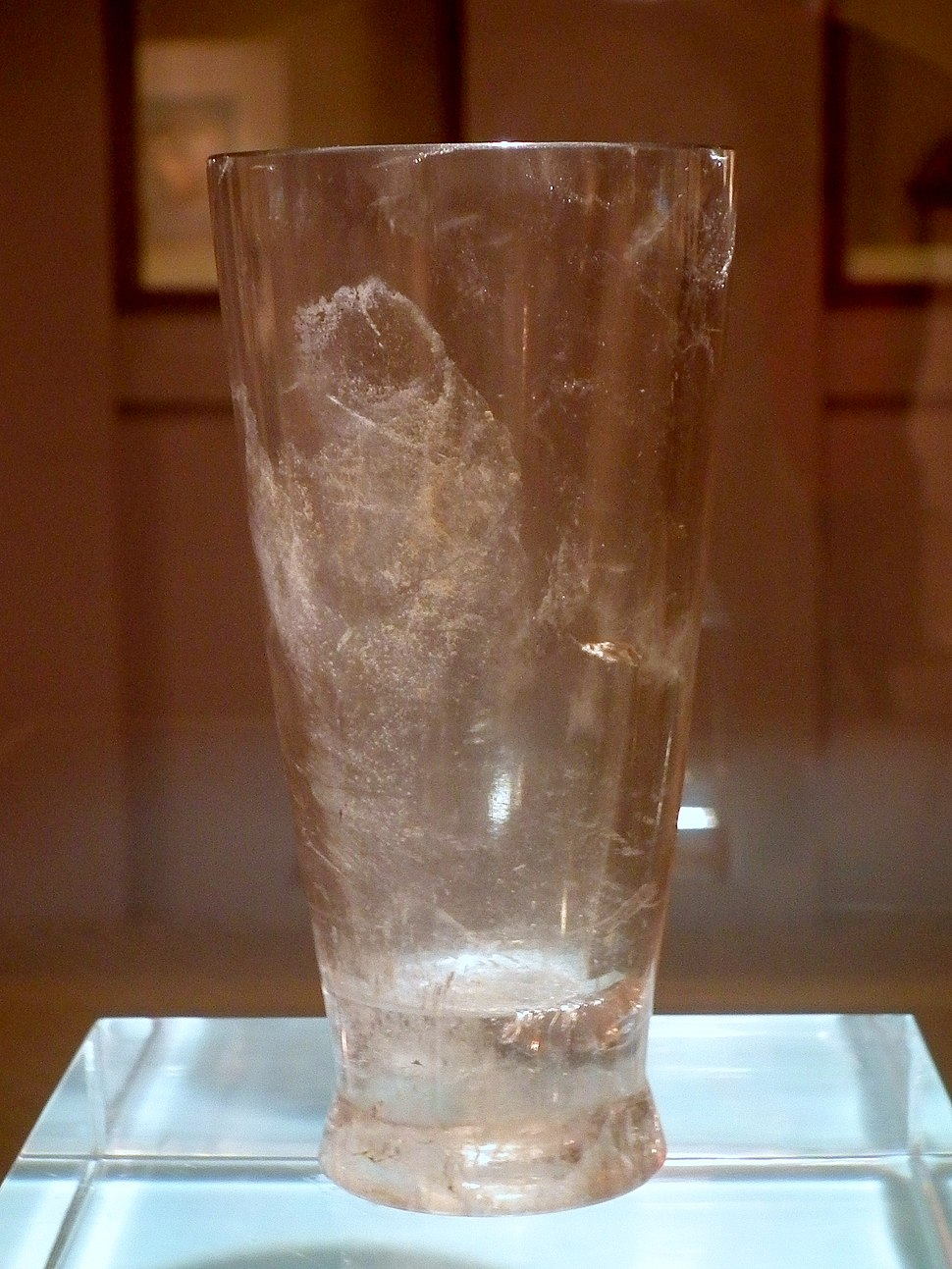 Crystal Cup(Warring States Period) in Hangzhou Museum