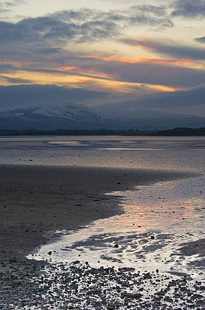 Ox Mountains - View from Culleenamore beach of Knockalongy, the range's highest peak