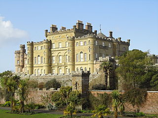 Culzean Castle castle near Maybole, Carrick, South Ayrshire, Scotland