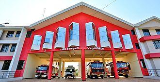 Curchorem - Curchorem-Fire station
