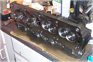 Cylinder head - A 302/5.0L Ford Windsor V8 cylinder head