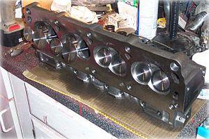 Cylinder head - A 302/5.0L Ford Windsor V8 cylinder head