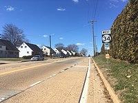 DE 34 WB past Montgomery Road.jpg