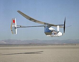 History of human-powered aircraft - MIT Light Eagle human-powered aircraft, predecessor to the MIT Daedalus aircraft