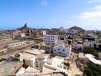 African Renaissance Monument - Image: Dakars Mamelles (5824544243)