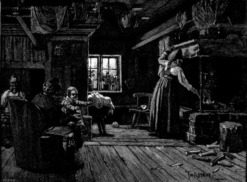 File:Dalecarlia, interior of a farm house, Harper's, 1883.png