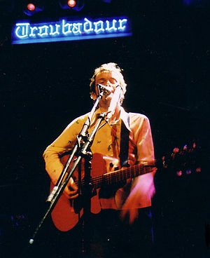 """O (Damien Rice album) - Rice on tour for """"O"""" at the Troubadour in 2003"""