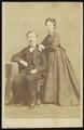 Damry, Walter - carte de visite, Portret van een echtpaar.tif