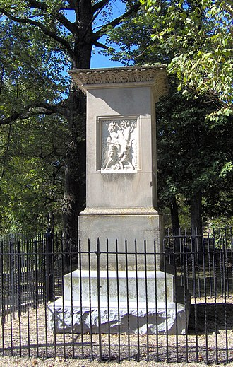 Frankfort Cemetery - Image: Daniel and Rebecca Boone's grave