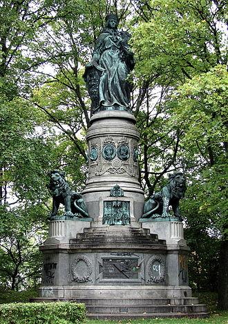 Østre Anlæg - The Denmark Monument