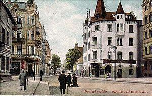Polski: Gdańsk Wrzeszcz, al. Grunwaldzka około...