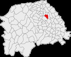 Vị trí của Darmanesti