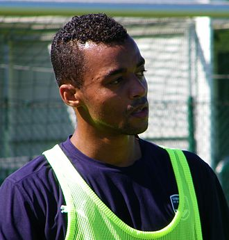 David Bellion - Bellion training with Bordeaux in 2009