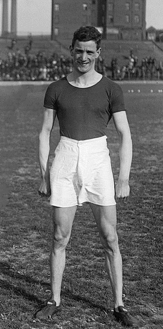 David Jacobs (Welsh athlete) - David Jacobs in 1913