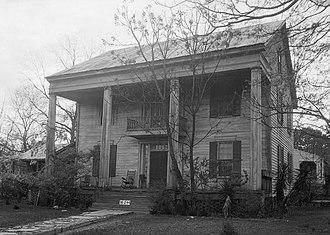 National Register of Historic Places listings in Greene County, Alabama - Image: David Rinehart Anthony House