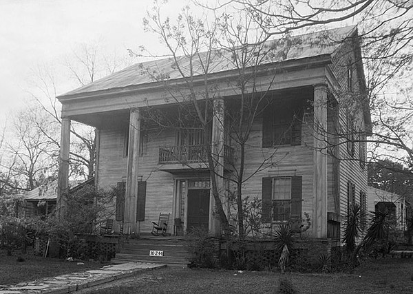 David rinehart anthony house for Building a house in alabama