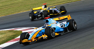 Durango (racing team) - Davide Valsecchi driving for Durango at the Silverstone round of the 2008 GP2 Series season.
