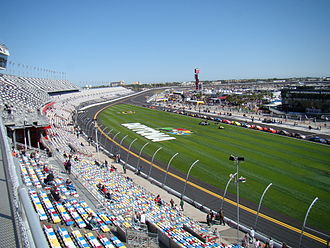 2011 Daytona 500 - The tri-oval after the 2010-2011 repaving