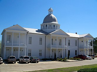 National Register of Historic Places listings in Walton County, Florida - Image: De Funiak Springs Chatauqua Hall 01