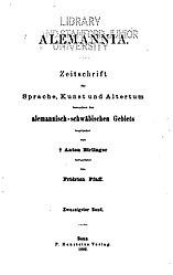 Alemannia (Band 20)