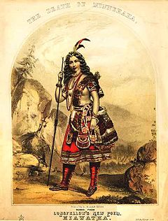 the song of hiawatha  john henry bufford s cover for the death of minnehaha 1856
