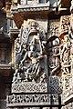 Decorated outer walls Hoysaleswara Temple Halebid (13).jpg
