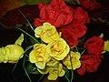 Decorative Room Flower Made Of Cloths. 03.jpg