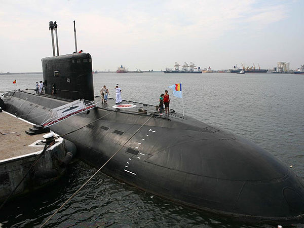 sub armura subțire submarin