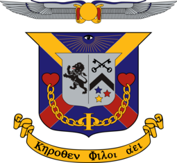 Delta Kappa Epsilon Coat of Arms.png