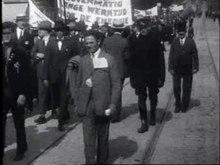File:Demonstratie ter verkrijging der achturige werkdag Weeknummer, 24-27 - Open Beelden - 13260.ogv
