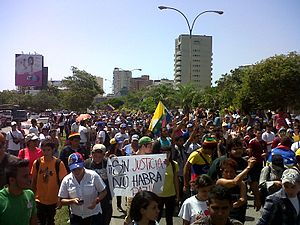 Demostration 12F in Venezuela 2014 6.jpg