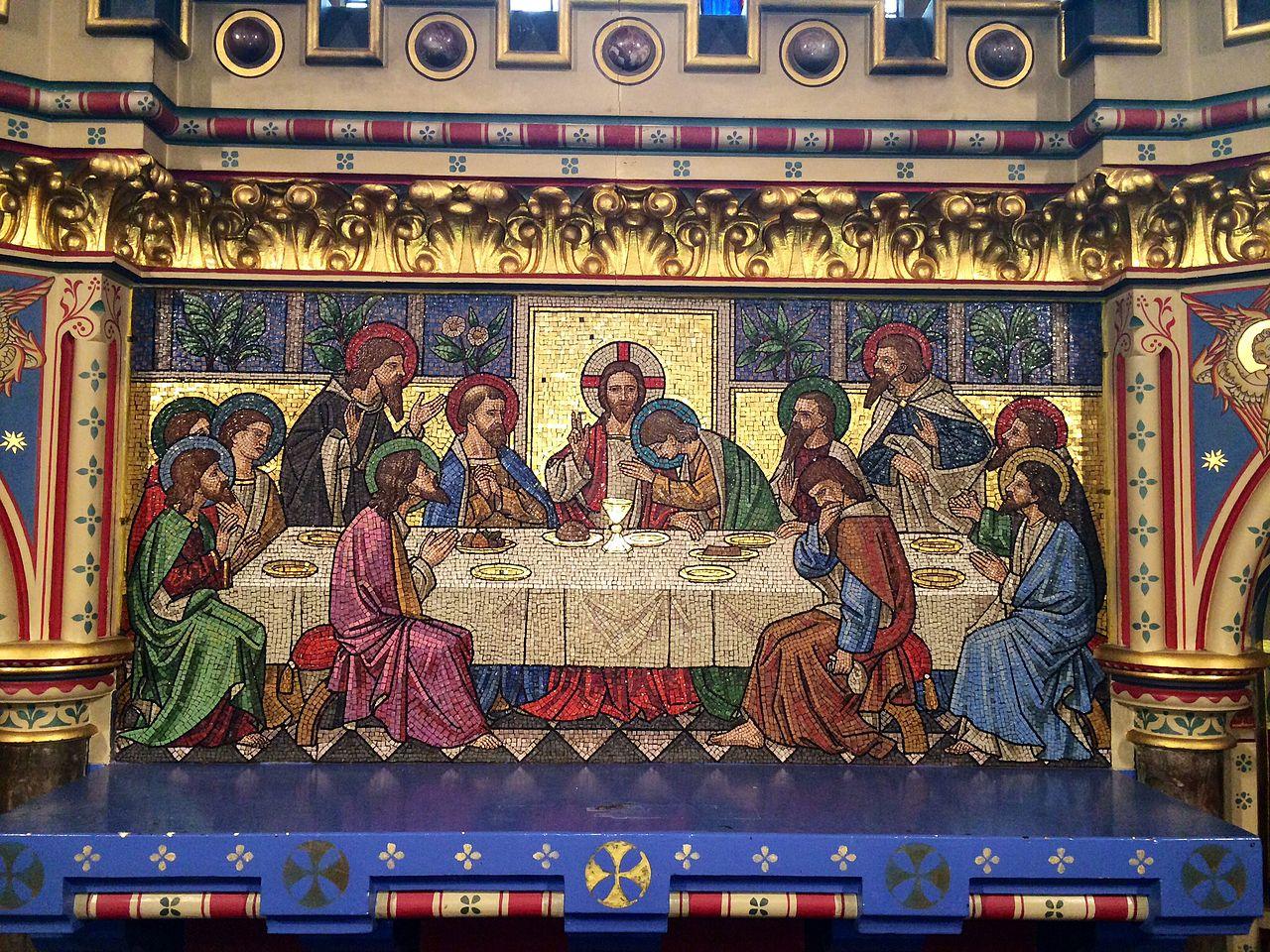 All Saints' Church, Reading – Interior Mosaic