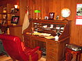 Desk of Billy Graham, Charlotte, NC IMG 4230.JPG