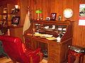Desk of Billy Graham, Charlotte, NC IMG 4230.JPG