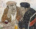 Deux amis au café, 1976 - 72.5x91cm (30F).jpg