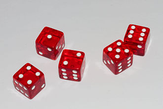 Diceware - Diceware passwords are generated by rolling a six-sided die five times to generate a five-digit number, which corresponds to a single word