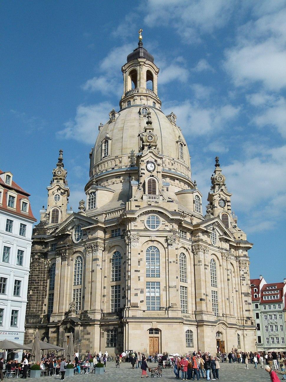 Die Frauenkirche in Dresden 1