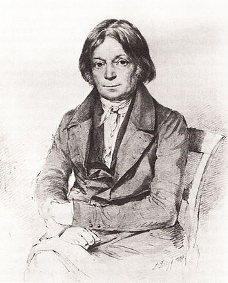 Joseph Görres - Joseph Görres in 1838, drawing by F. Diez