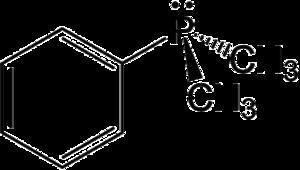 Dimethylphenylphosphine - Image: Dimethylphenylphosph ine 2D by AHRLS 2012