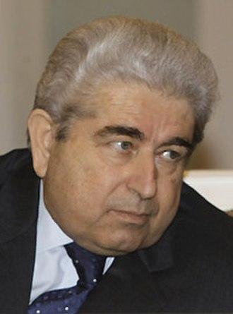 President of Cyprus - Image: Dimitris Christofias