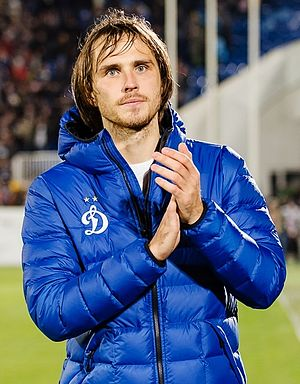 Vitali Dyakov - With Dynamo Moscow in 2015
